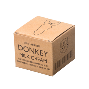 Donkey milk cream